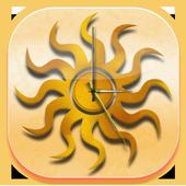 Sun Widget Clock icon