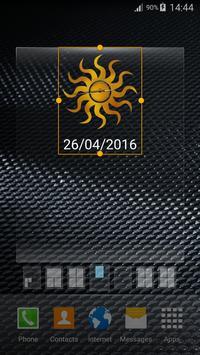 Sun Widget Clock apk screenshot