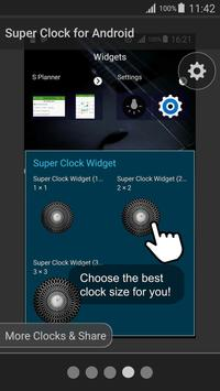 Super Clock for Android screenshot 6