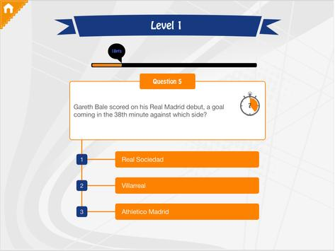 Foot Quiz Real Madrid Edition apk screenshot