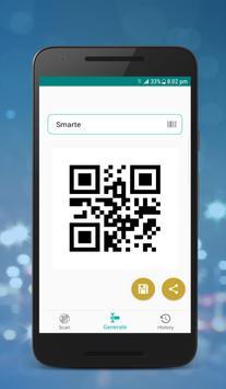 Smarte : QR Barcode Scanner screenshot 1