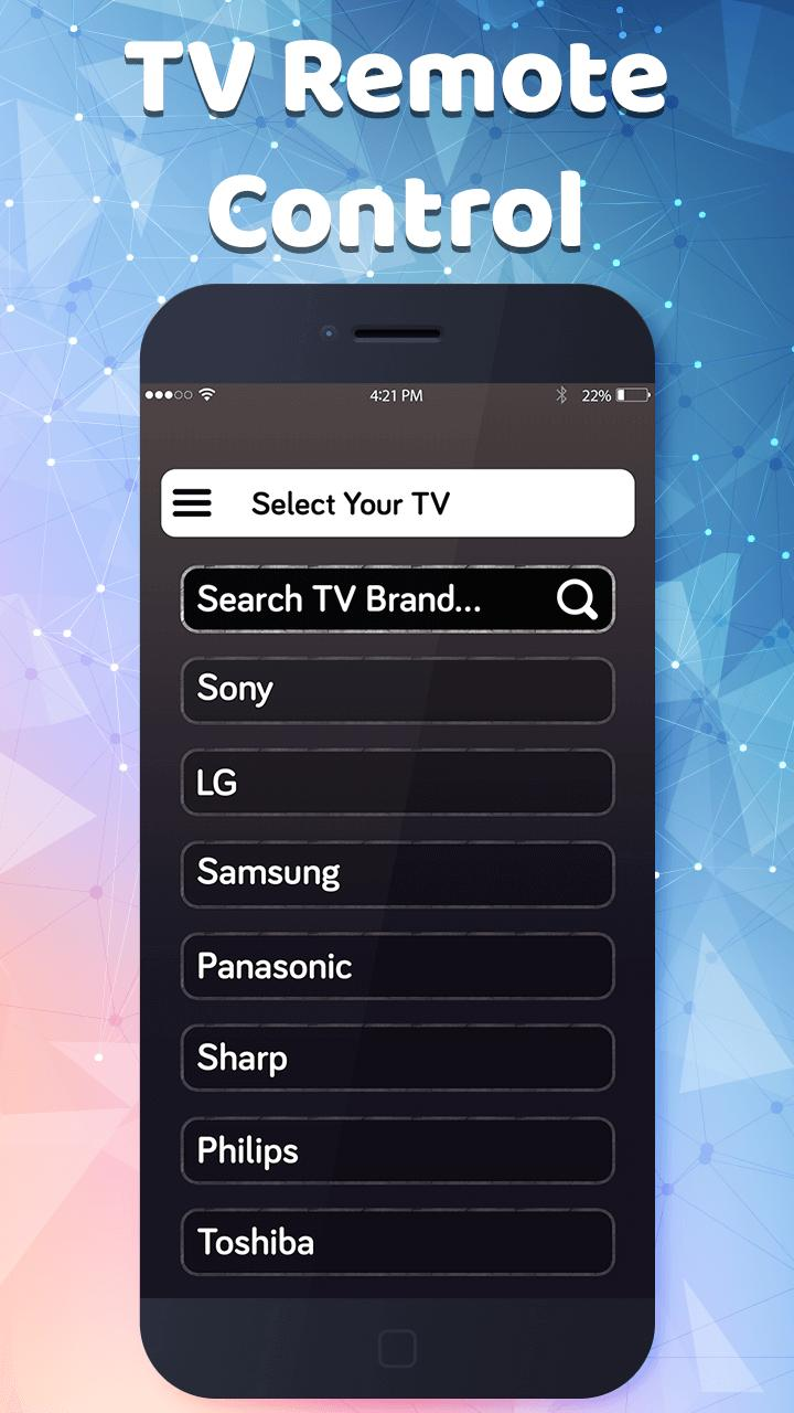Smart tv remore control-Remote app for Universal for Android