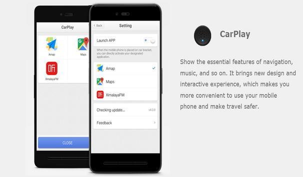 Carplay - Car Mode Phone poster