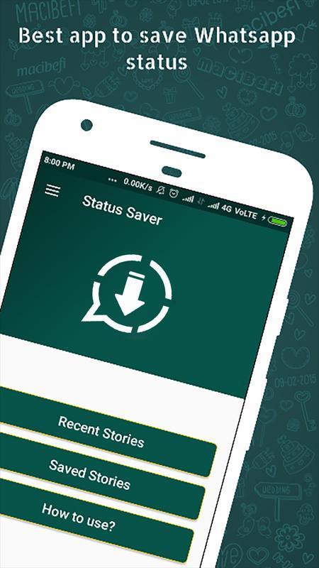 status saver for whatsapp app