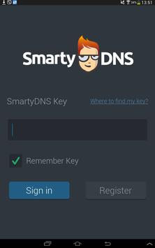 SmartyDNS apk screenshot