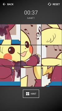 Pika Pikachu Tile Puzzle screenshot 1