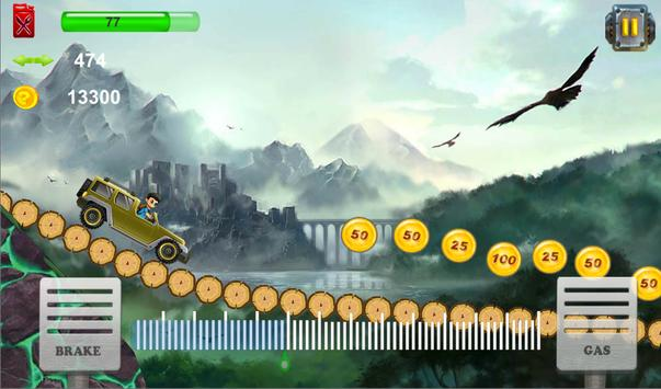 Monster Trucks - Hill Climb Racing screenshot 1
