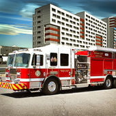 City Fire Truck Mission icon