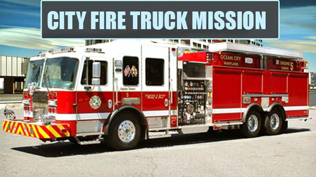 City Fire Truck Mission poster