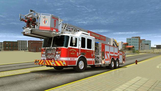 City Fire Truck Mission apk screenshot