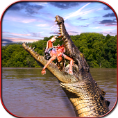 Crocodile Attack Simulator icon