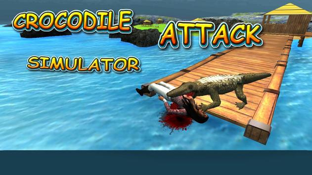 Crocodile Attack Simulator poster