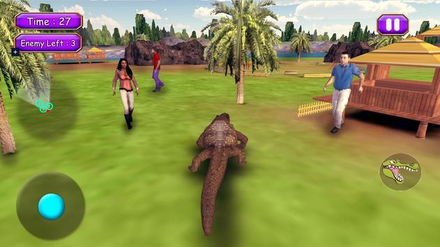 Crocodile Attack Simulator apk screenshot