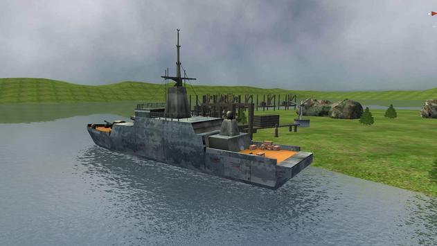 Battle Ship Drive screenshot 1