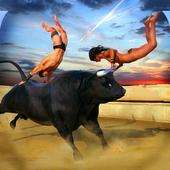Bull Attack Simulator 2016 icon