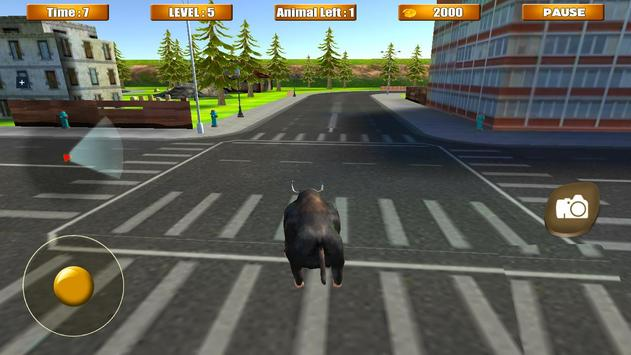 Bull Attack Simulator 2016 apk screenshot
