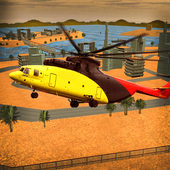 Desert City Helicopter Rescue icon