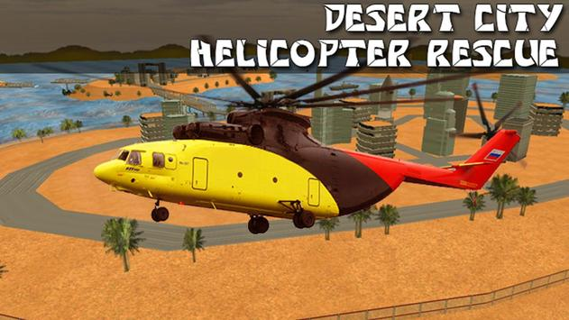 Desert City Helicopter Rescue poster