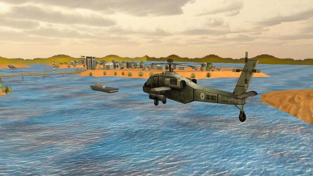 Desert City Helicopter Rescue apk screenshot