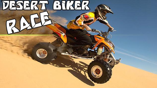 Desert Biker Race poster