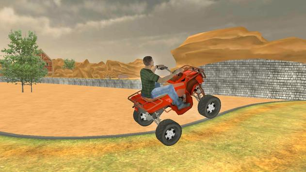 Desert Biker Race screenshot 13