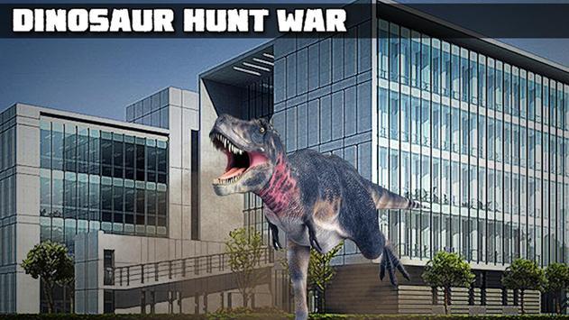 Dinosaur Hunt War poster