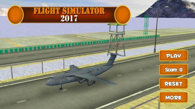 Flight Simulator 2017 poster