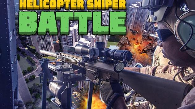 Helicopter Sniper Battle poster