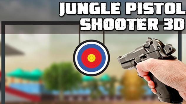 Jungle Pistol Shooter 3D poster