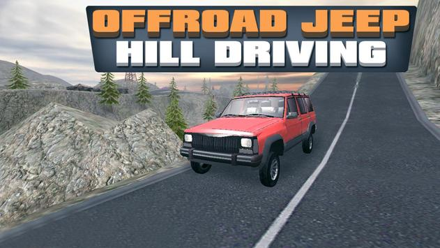 Offroad Jeep Hill Driver poster