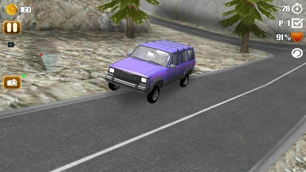 Offroad Jeep Hill Driver screenshot 3