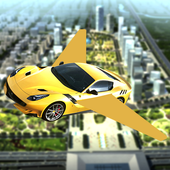 Super Car Fly Race icon