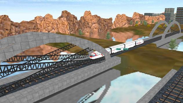 Superfast Bullet Train Racing screenshot 11