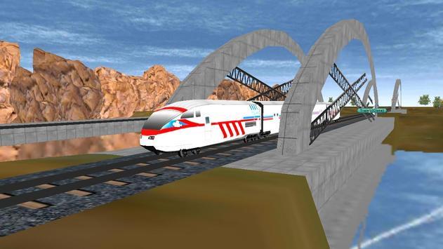Superfast Bullet Train Racing screenshot 2