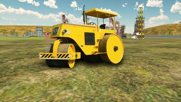 Road Roller Construction Sim apk screenshot
