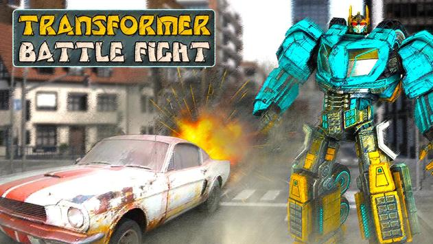 Transformer Battle Fight poster
