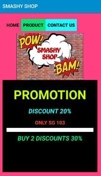 SMASHY SHOP poster