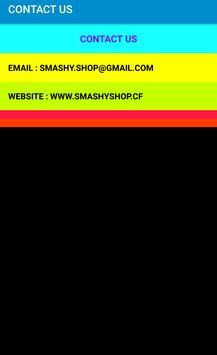 SMASHY SHOP apk screenshot