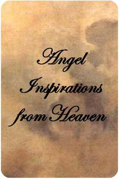 Angel Inspirations from Heaven poster
