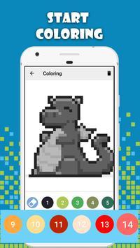 Pixel Art Ultra - Sandbox Coloring By Number screenshot 1
