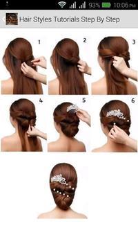 Hair Styles Tutorials apk screenshot