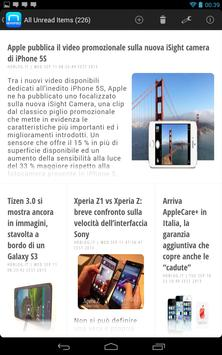 NewsFeed - Feedly Client apk screenshot