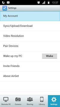 AirGet screenshot 2