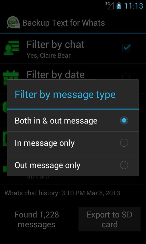 Backup Text for Whats for Android - APK Download