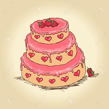 lovely sweet cute cake apk screenshot