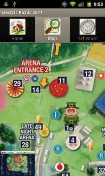 Electric Picnic 2011 Guide apk screenshot