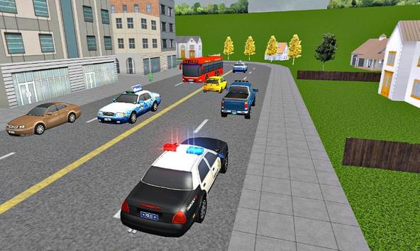 US Police Car Driver: Mad City Crime Life 3D poster