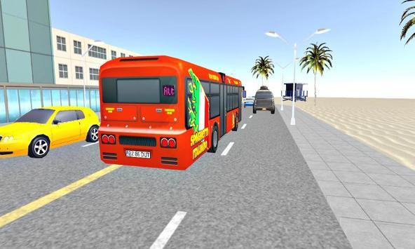 Bus Simulator USA Driving Game: Real City Life Sim poster