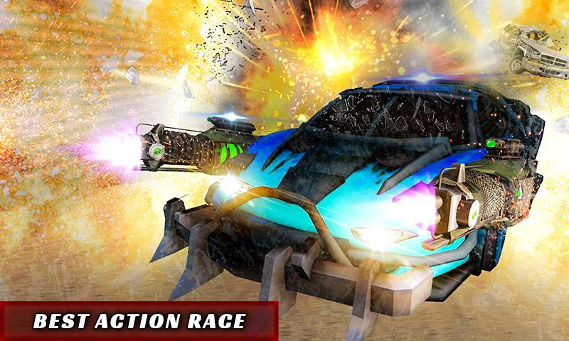 Extreme Death Racer Armored Car Combat Racing For Android Apk