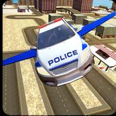 Flying Police Car Evolution icon